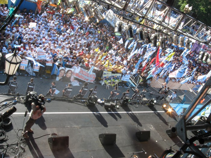 Escenario Acto de Asunción Presidencial